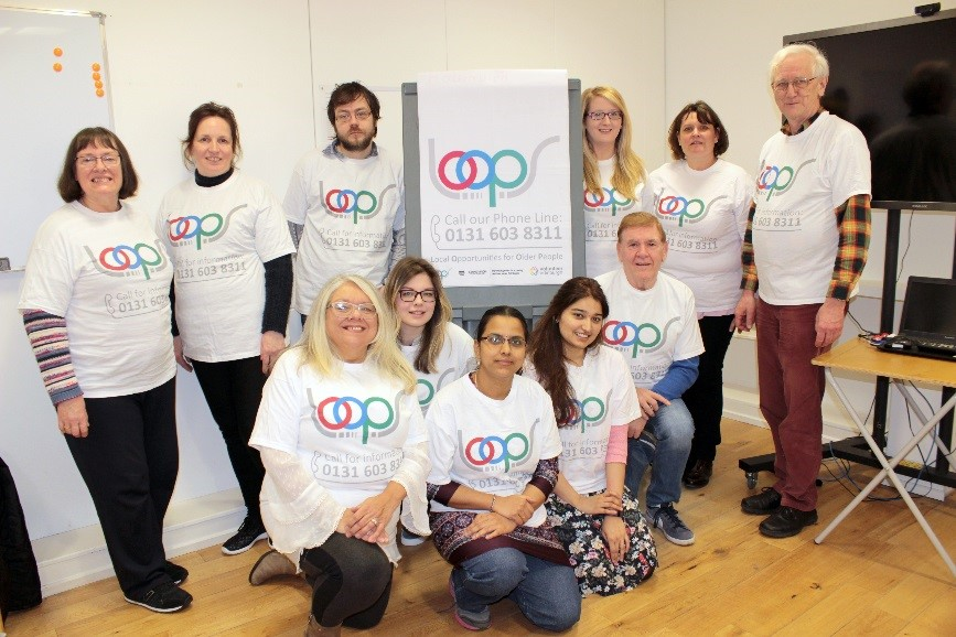 Picture of LOOPs phoneline team