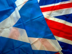Scottish_and_British_flags